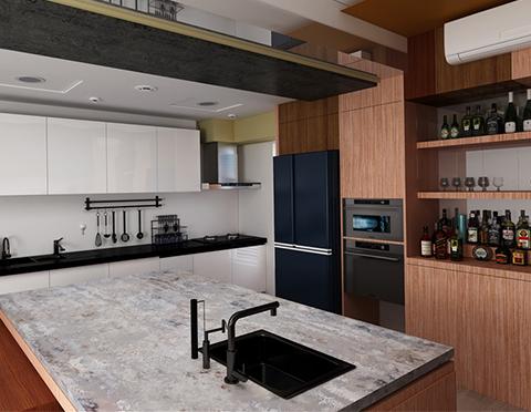 Kitchen Island   jw-4219